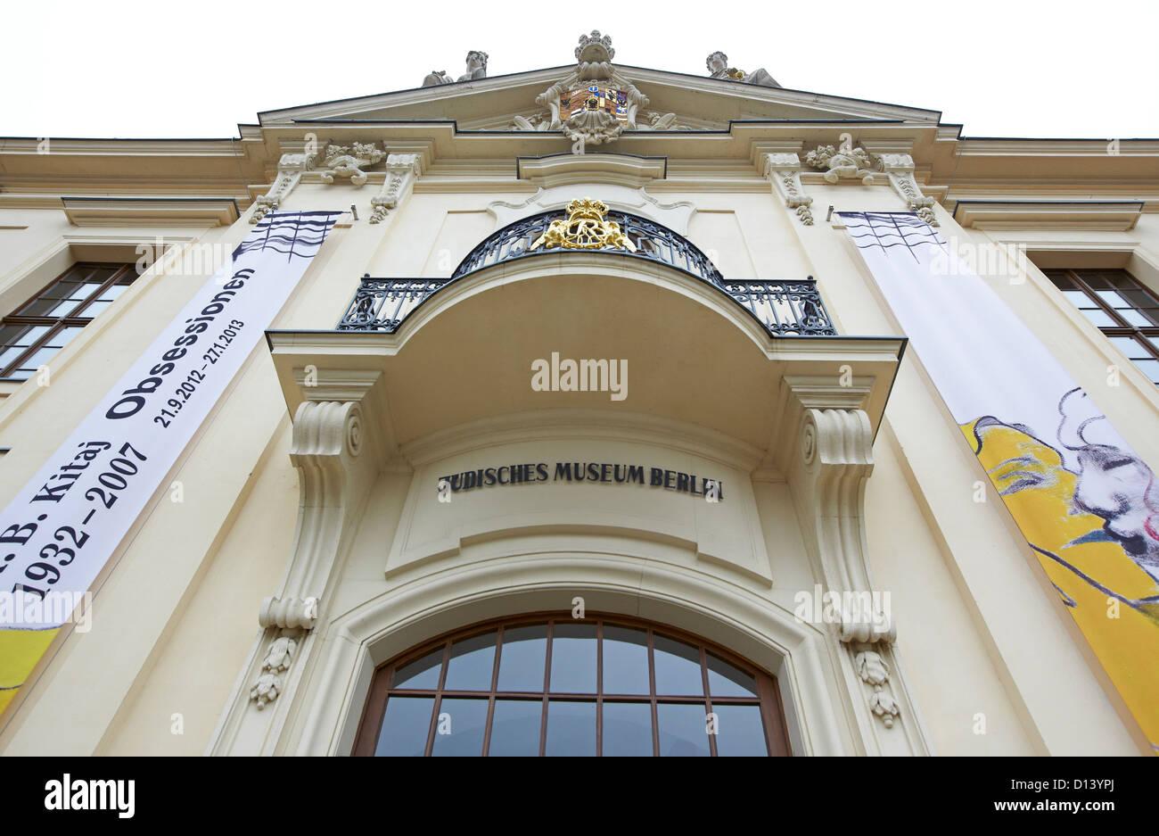 Jewish Museum Berlin Germany - Stock Image