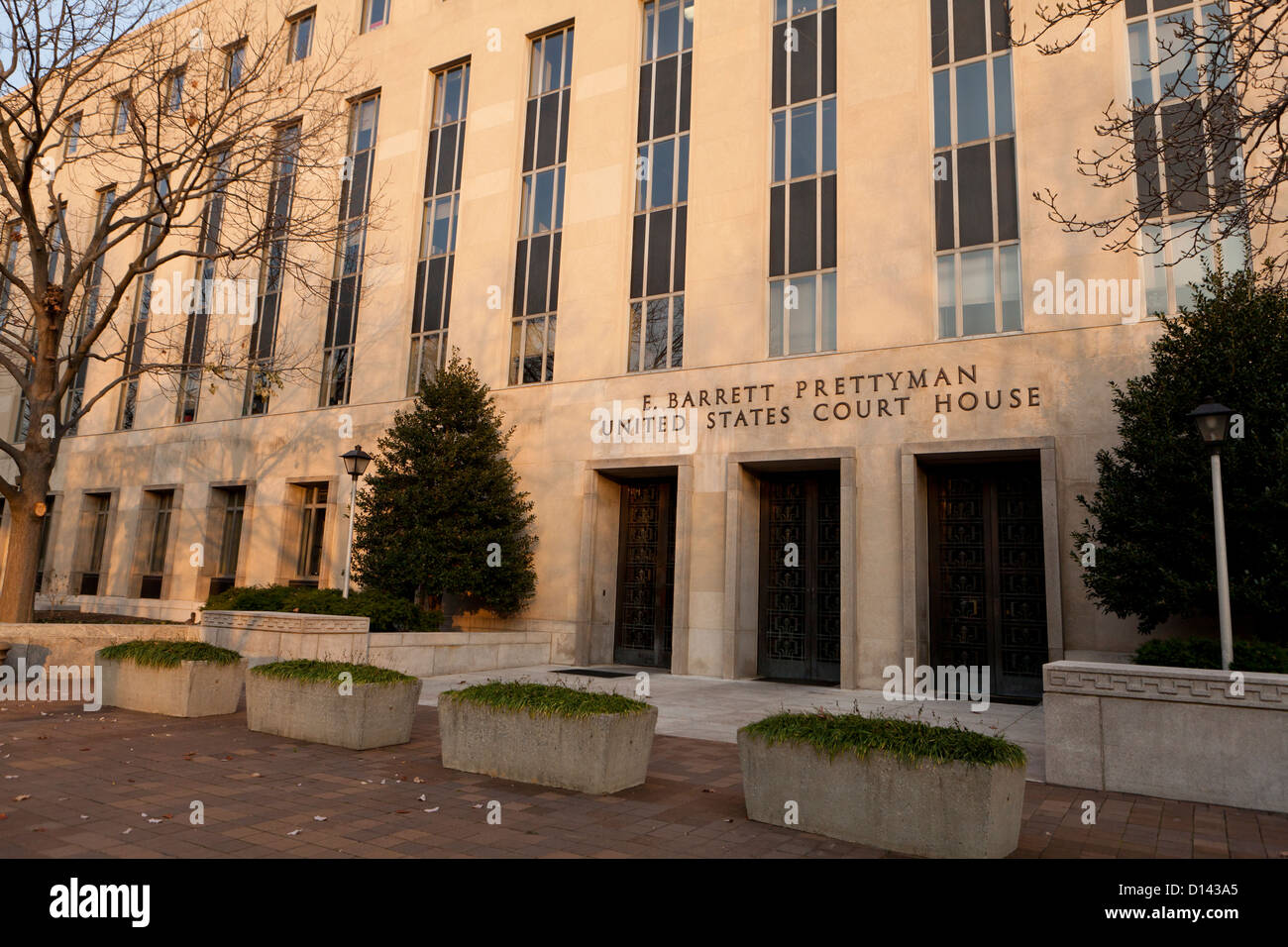 US Courthouse building - Washington, DC USA - Stock Image