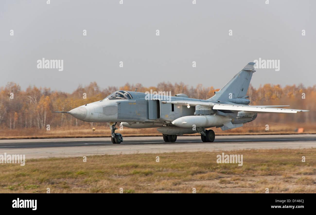Sukhoi Su 24 Stock Photos & Sukhoi Su 24 Stock Images - Alamy
