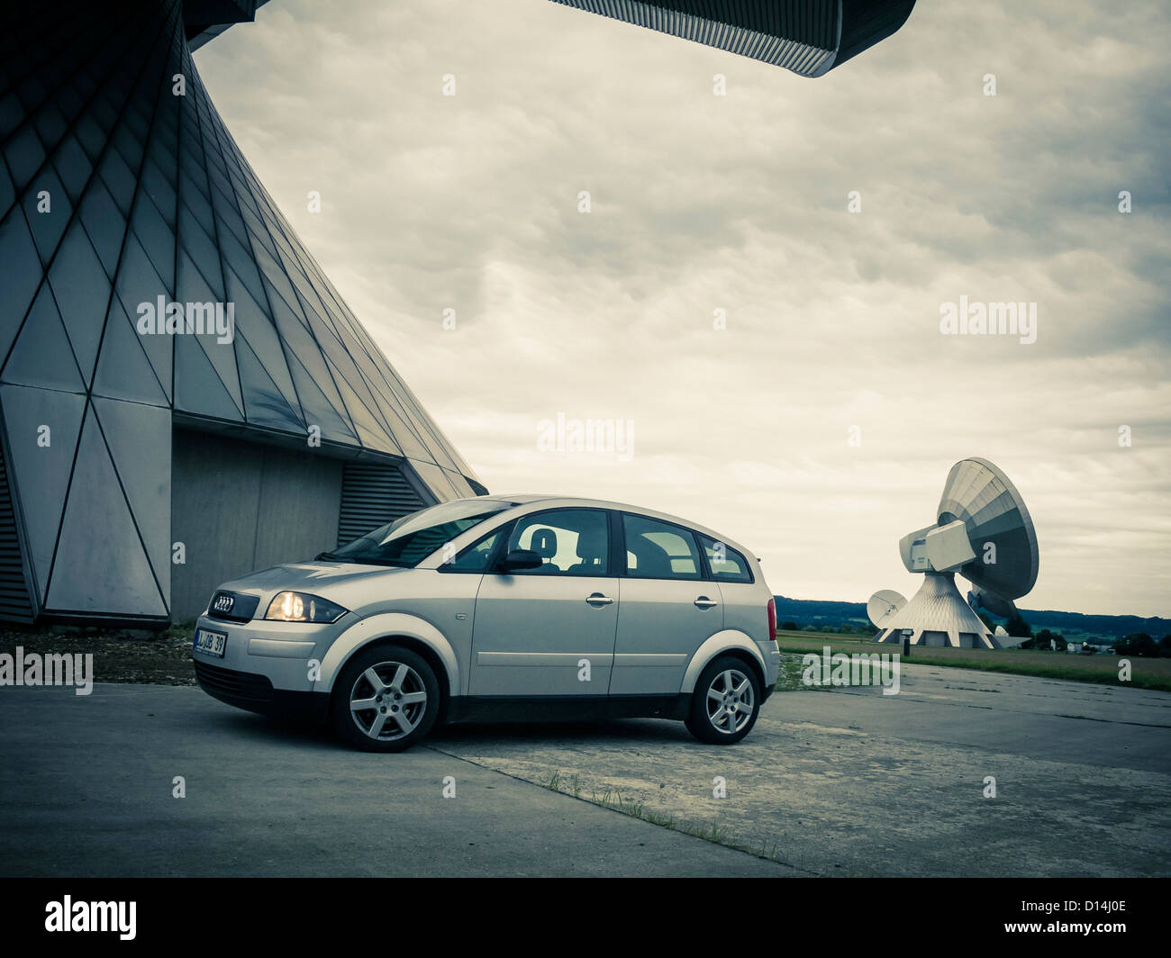 Audi A2 1,4 TDI Stock Photo
