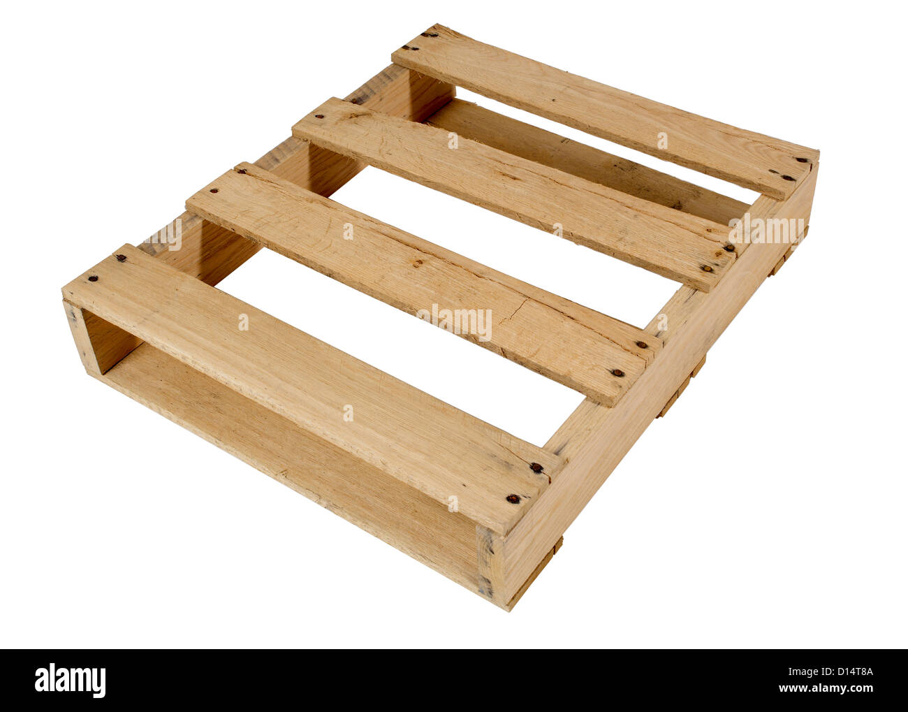 wood Pallet - Stock Image