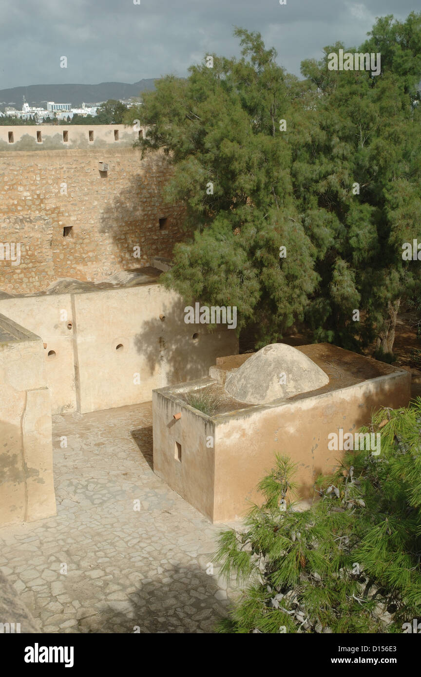 The Old Fort, Hammamet, Tunisia - Stock Image