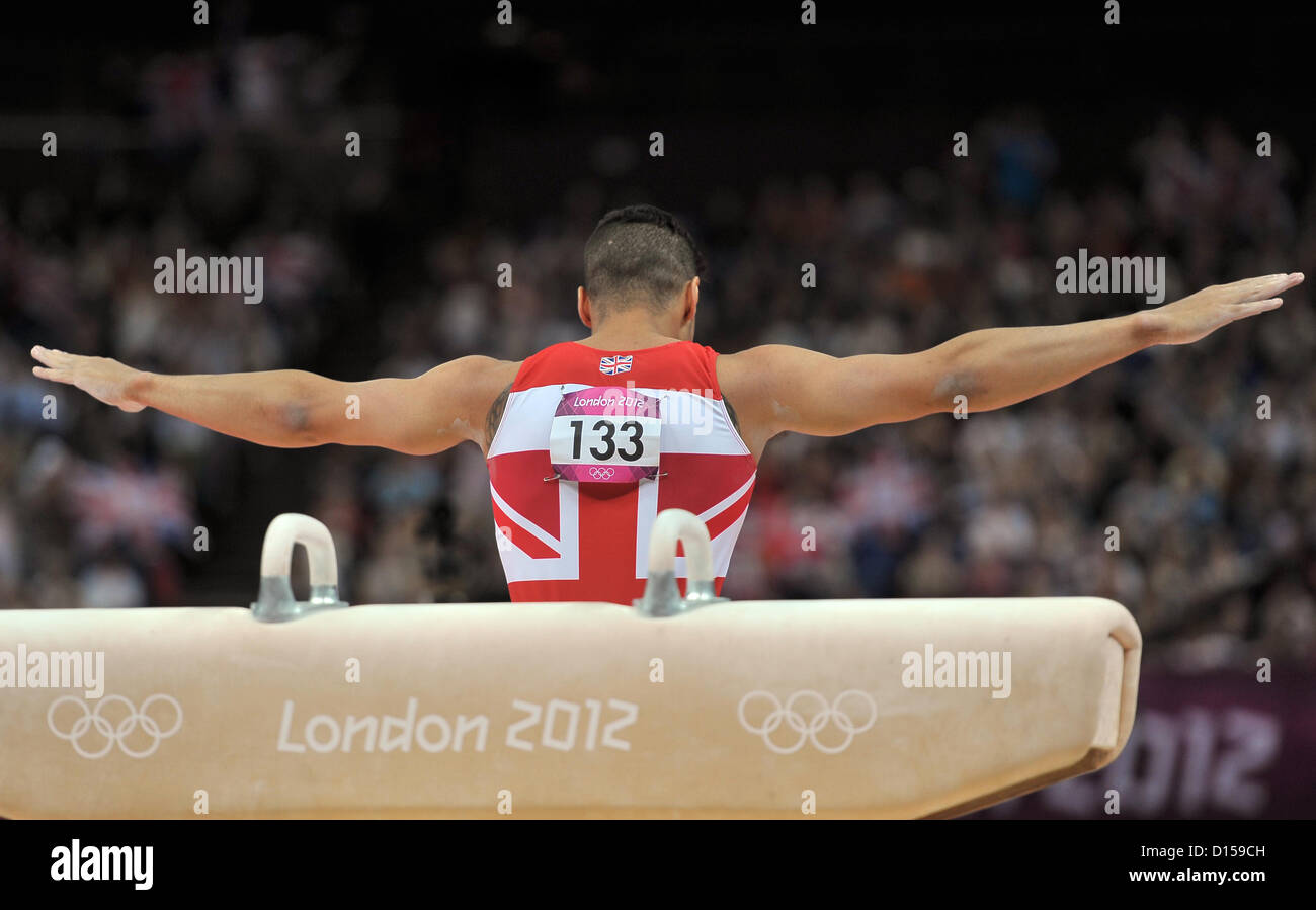 Louis Smith (GBR, Great Britain). Individual Gymnastics - Stock Image