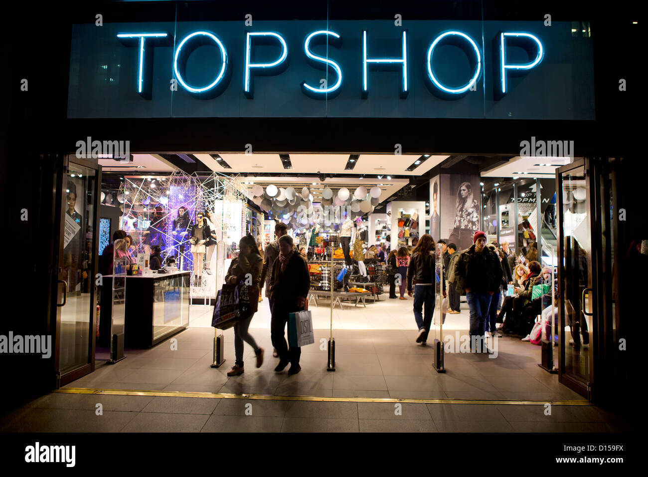 Flagship Topshop store in London, Oxford