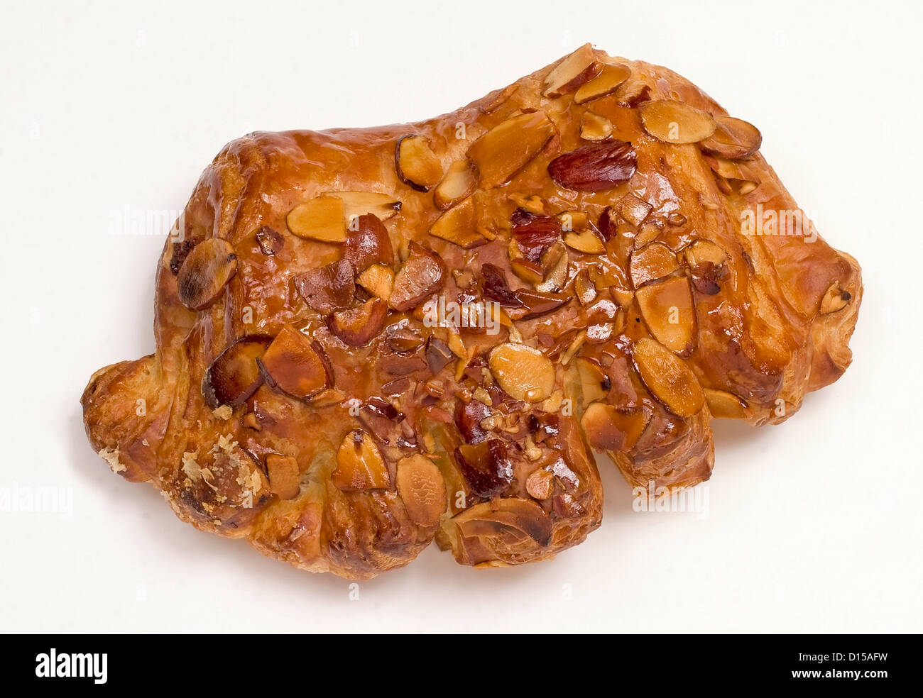 Bear claw pastry. - Stock Image