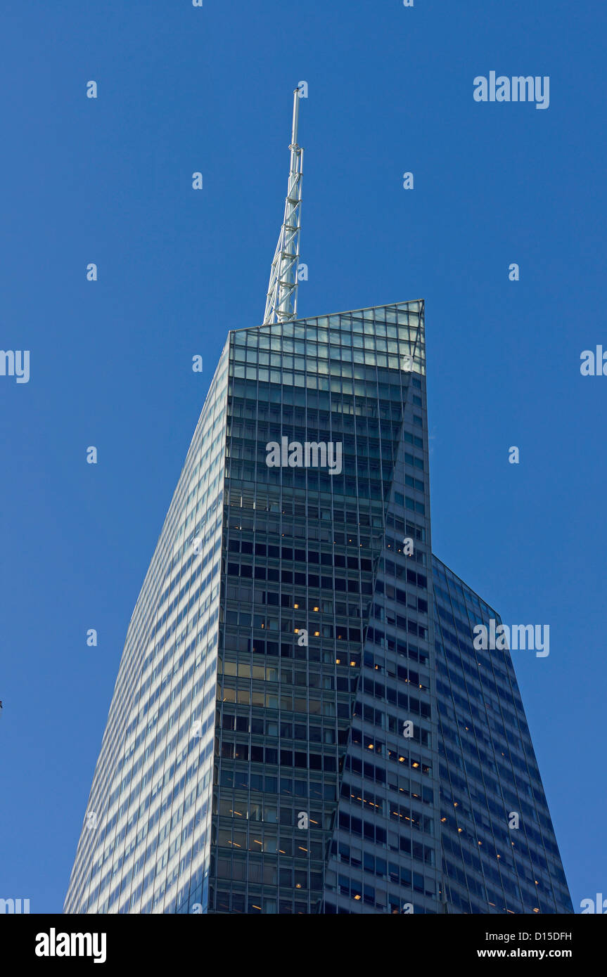 Bryant Park , Bank of America, W.R. Grace building, Midtown Manhattan, NYC - Stock Image