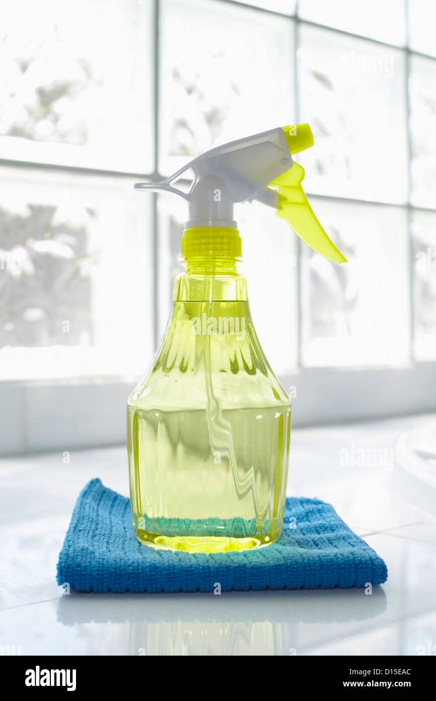 Usa New York State New York City Brooklyn Cleaning Supplies In
