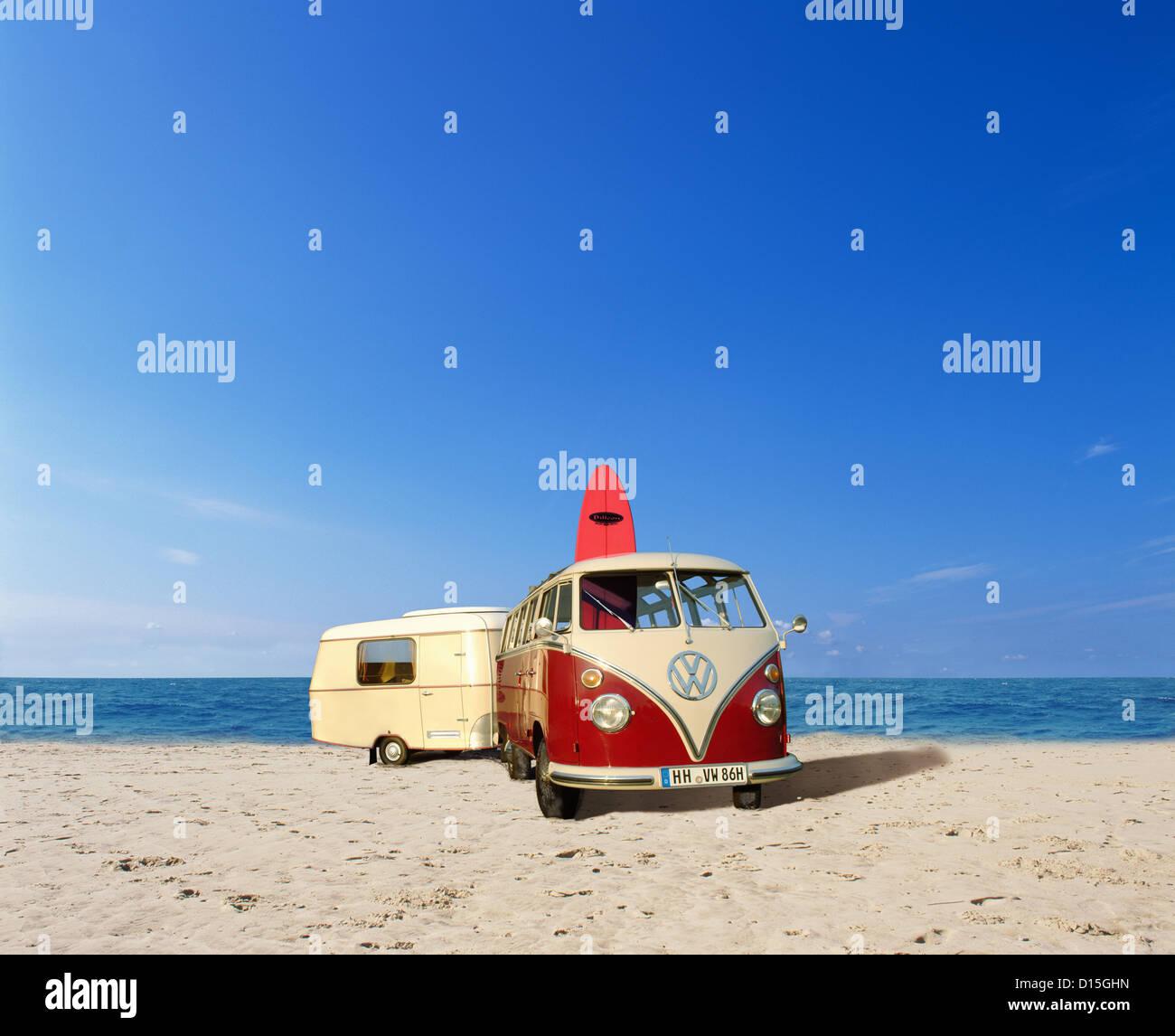 volkswagen transporter t1 stock photos volkswagen. Black Bedroom Furniture Sets. Home Design Ideas