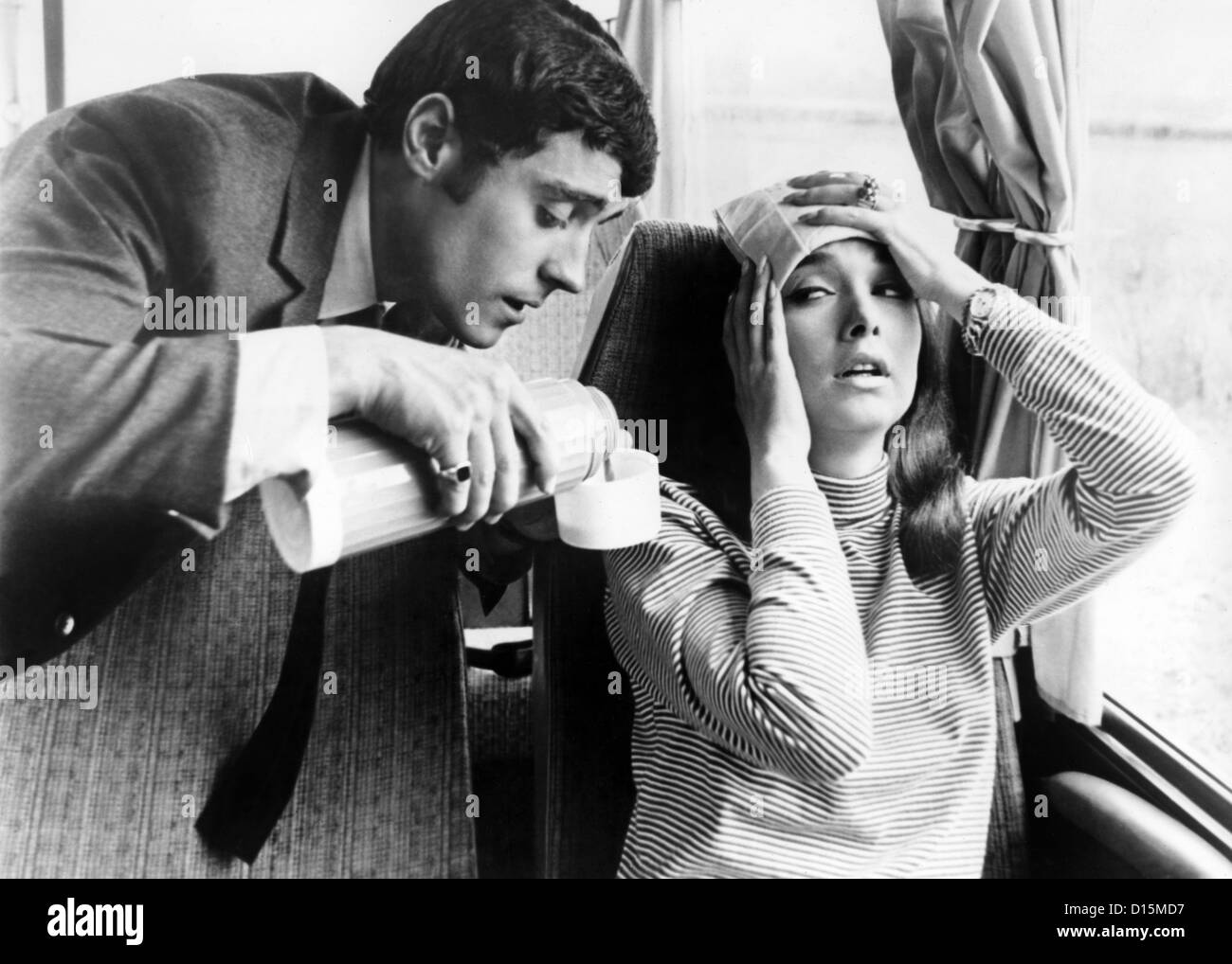 IF ITS TUESDAY IT MUST BE BELGIUM (1969) IAN MCSHANE, SUZANNE PLESHETTE, MEL STUART (DIR) ITTB 003 MOVIESTORE COLLECTION Stock Photo