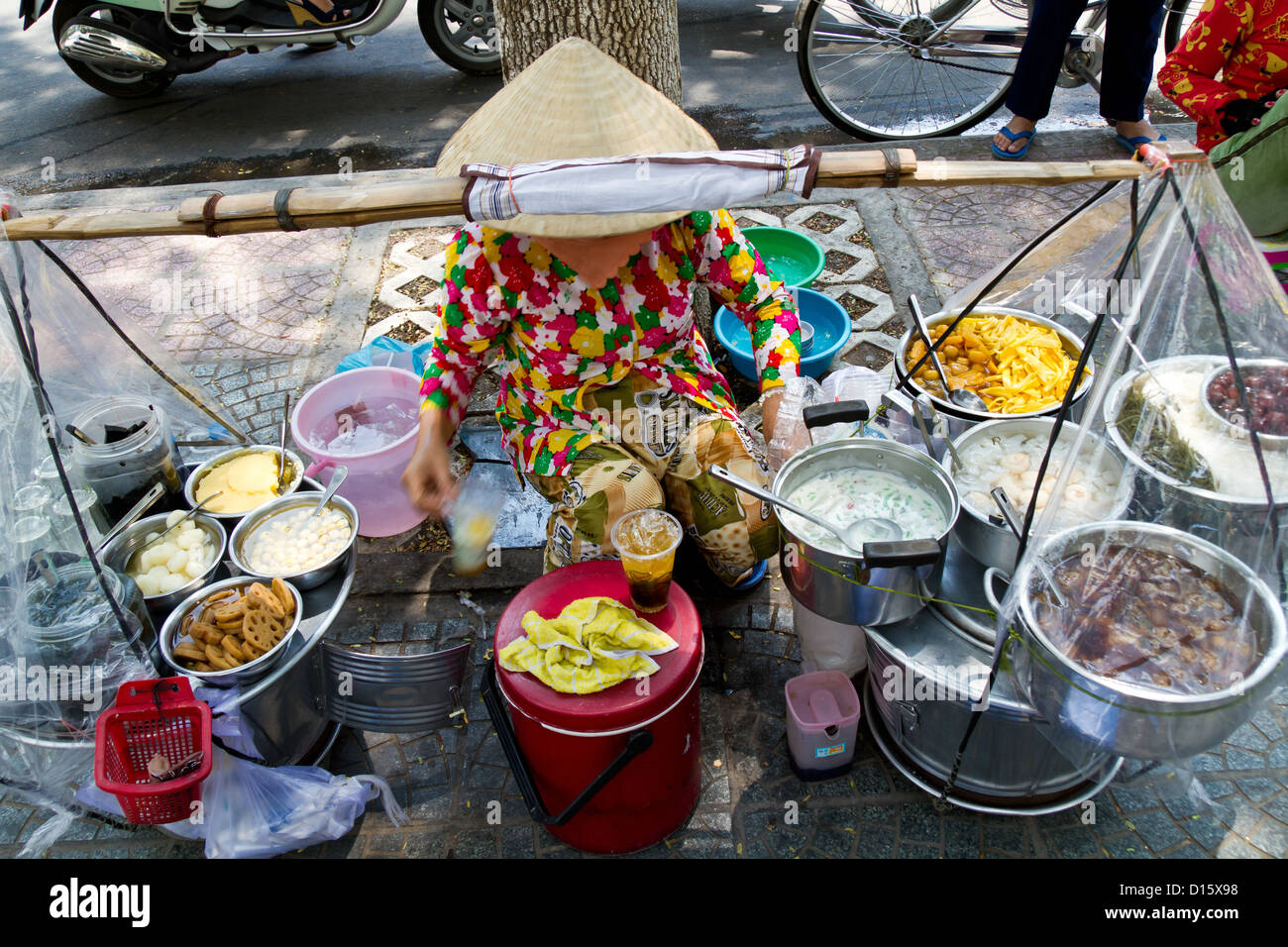 sale of street food in ho chi minh city vietnam stock photo 52376164 alamy. Black Bedroom Furniture Sets. Home Design Ideas