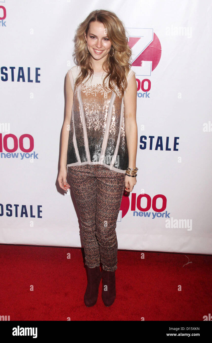 Bridgit Mendler at Z100s Jingle Ball 2012 Photoshoot -02