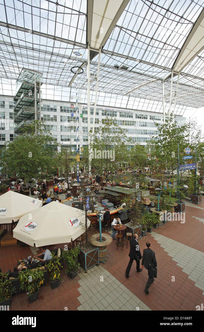 Munich Airport Centre, Munich, Germany - Stock Image