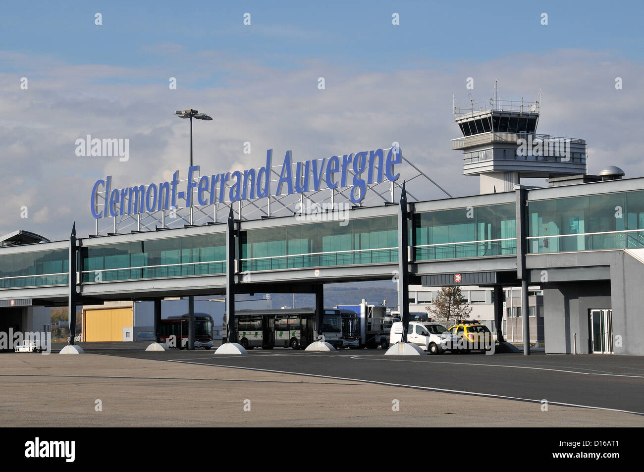 clermont ferrand auvergne airport stock photo 52385985 alamy. Black Bedroom Furniture Sets. Home Design Ideas