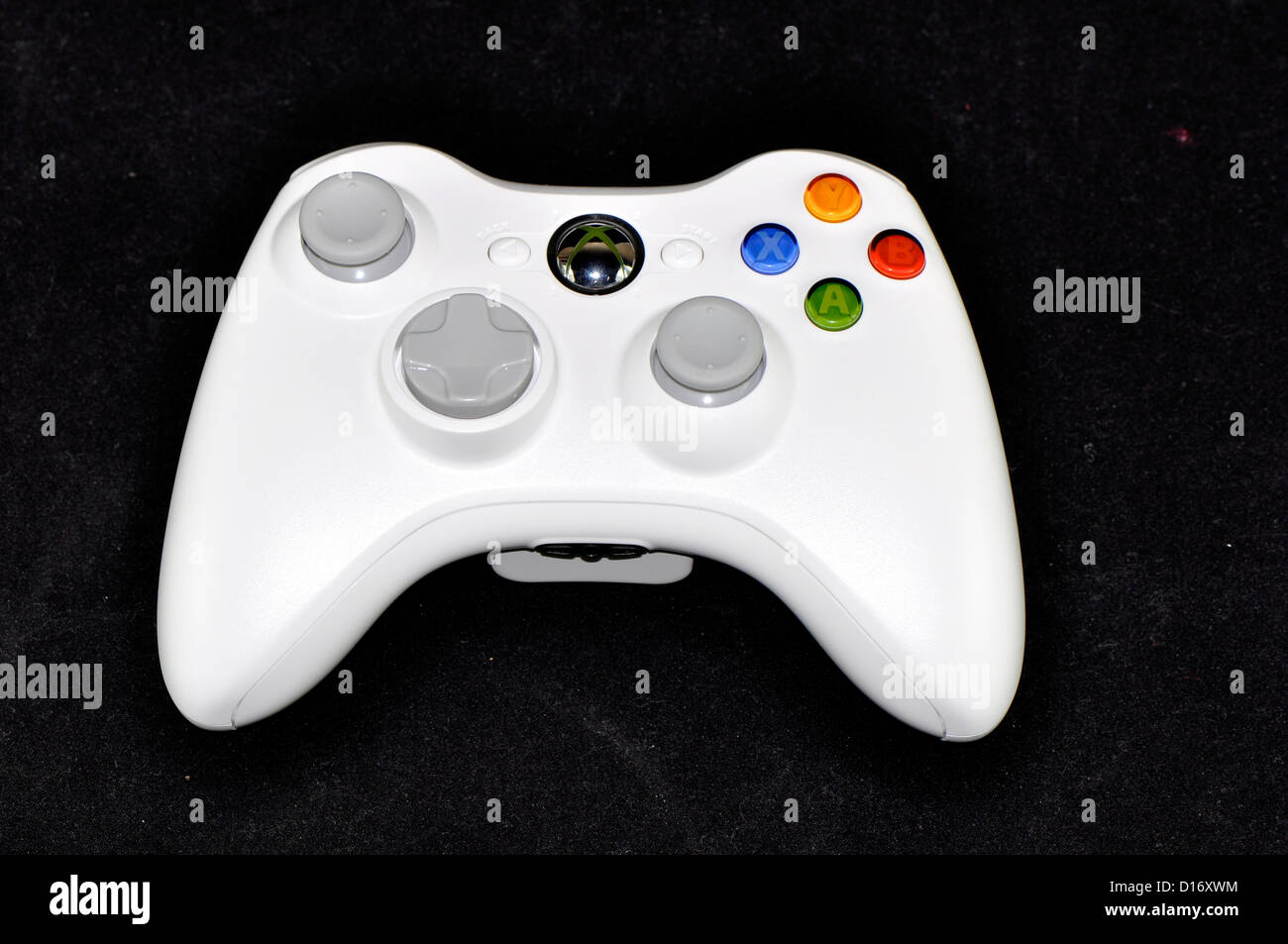 New series of Xbox 360 white set from Microsfot.  - Stock Image