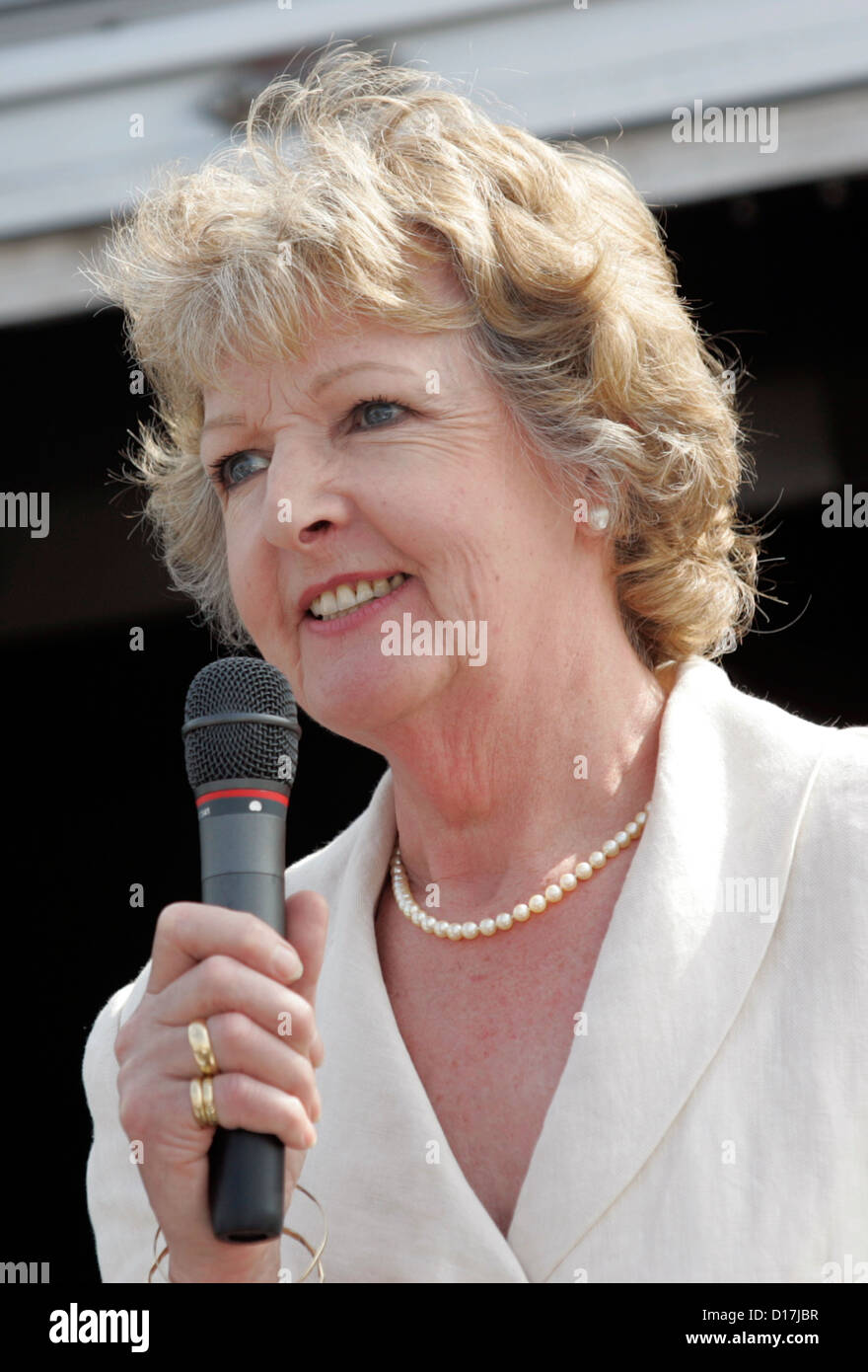 Penelope Keith actress television The Good Life - Stock Image