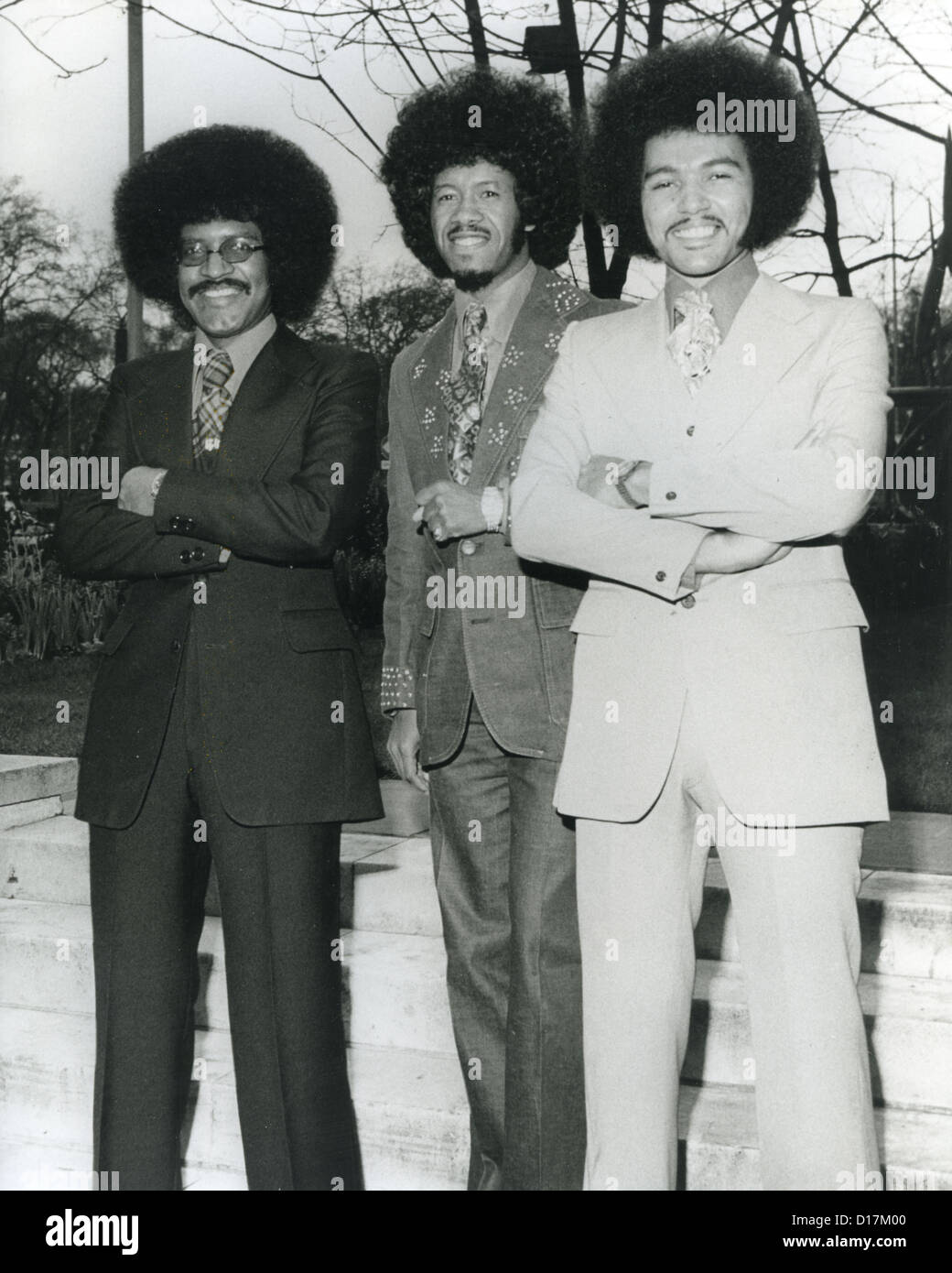 CHI-LITES US vocal group about 1978 - Stock Image