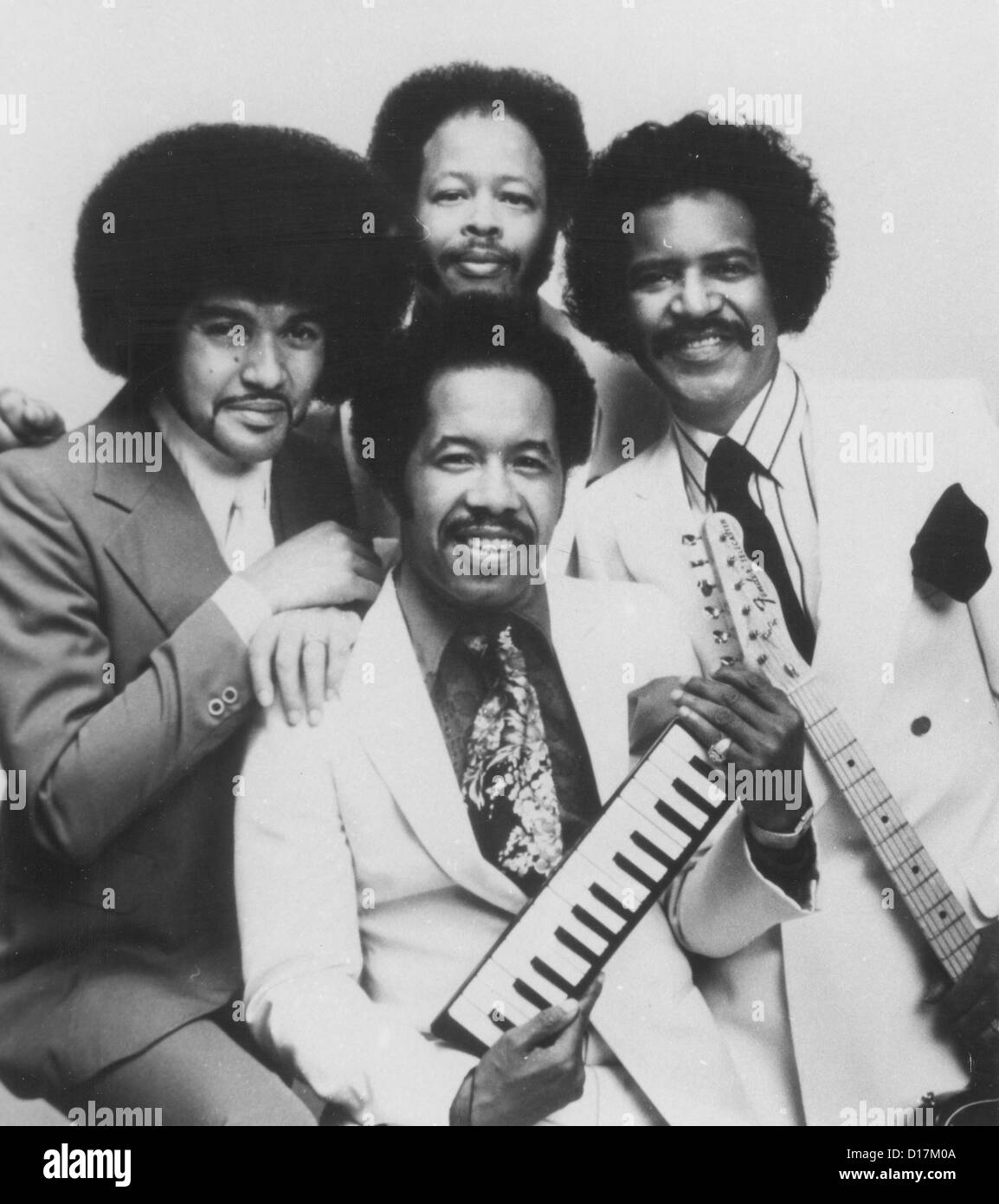 CHI-LITES US vocal group about 1975 - Stock Image