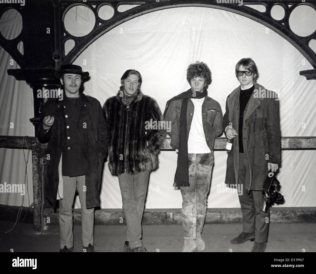 a8dcc3fa5b5 THE BYRDS US pop group in London in February 1967 from l  Dave Stock ...