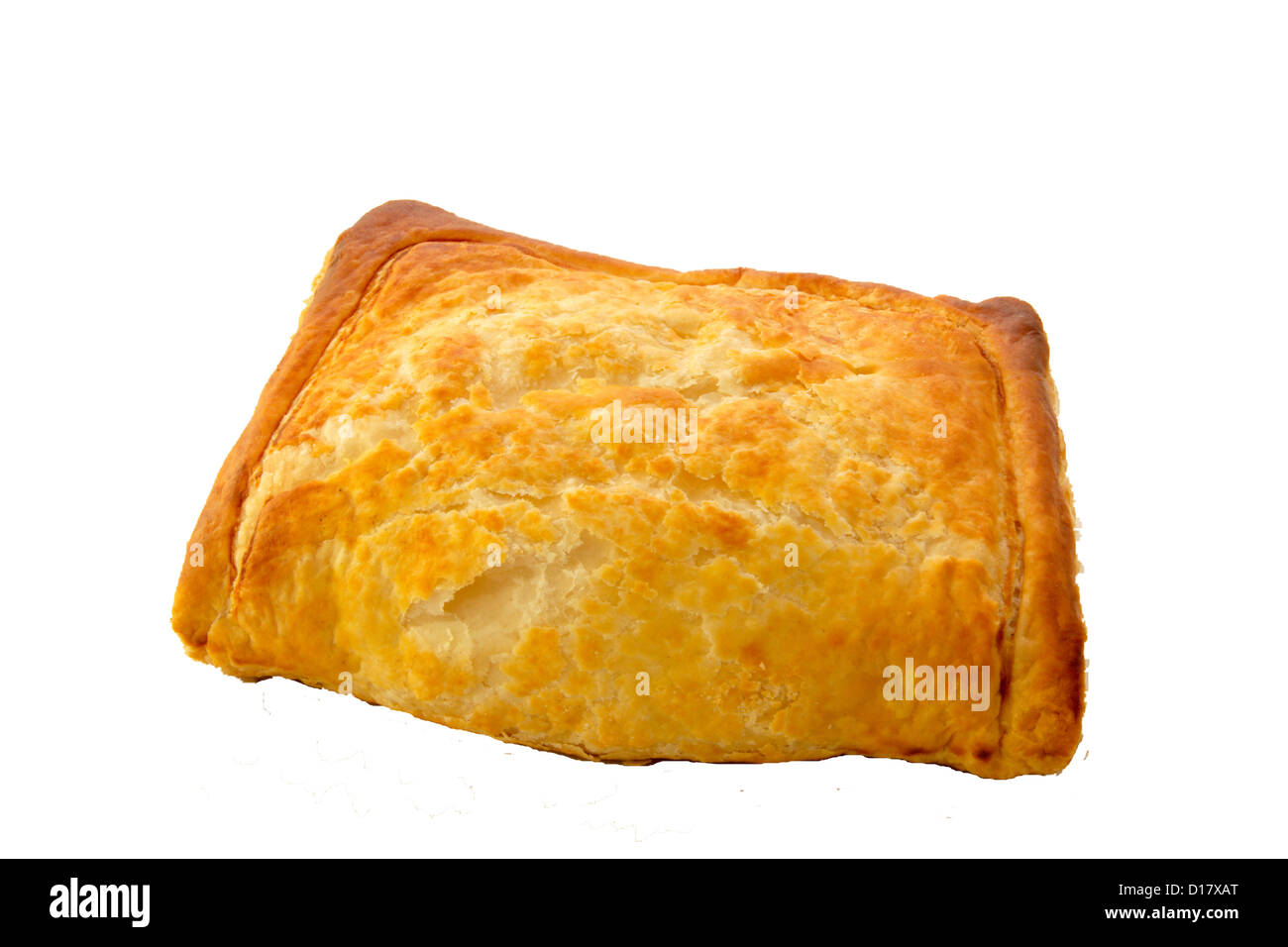 Flaky pastry cheese bake - Stock Image