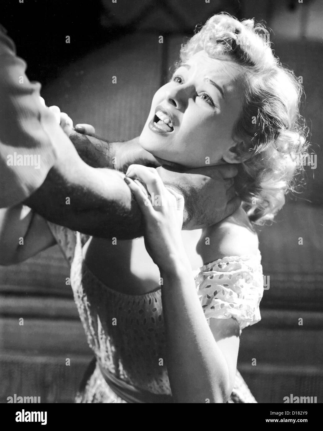 man strangling woman stock photo 52423709 alamy