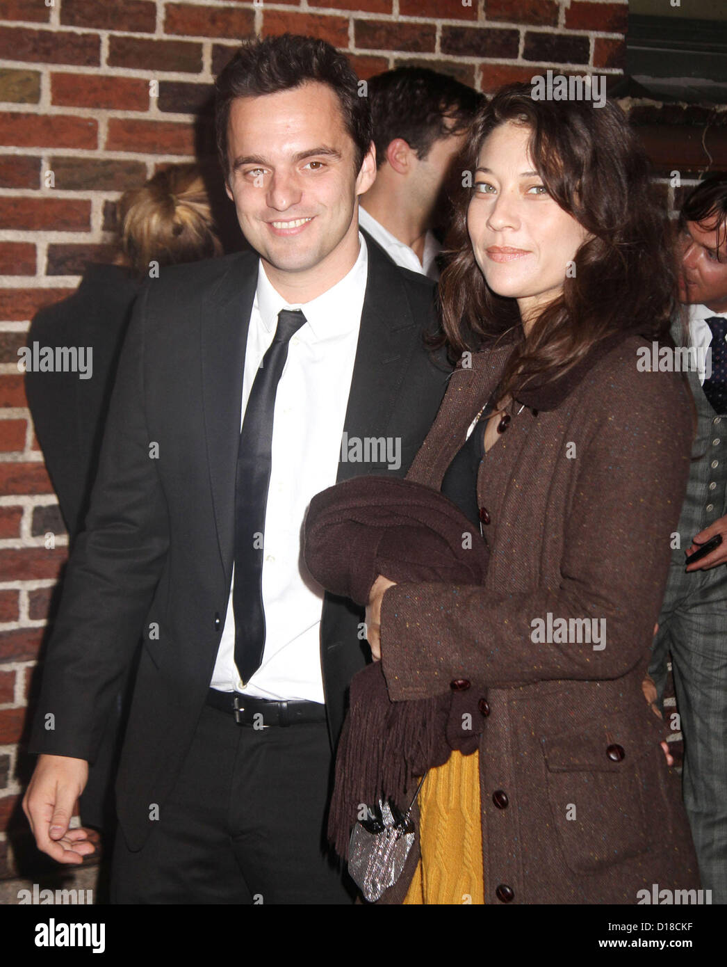 Dec 10 2012 New York New York Us Comedian Jake Johnson And