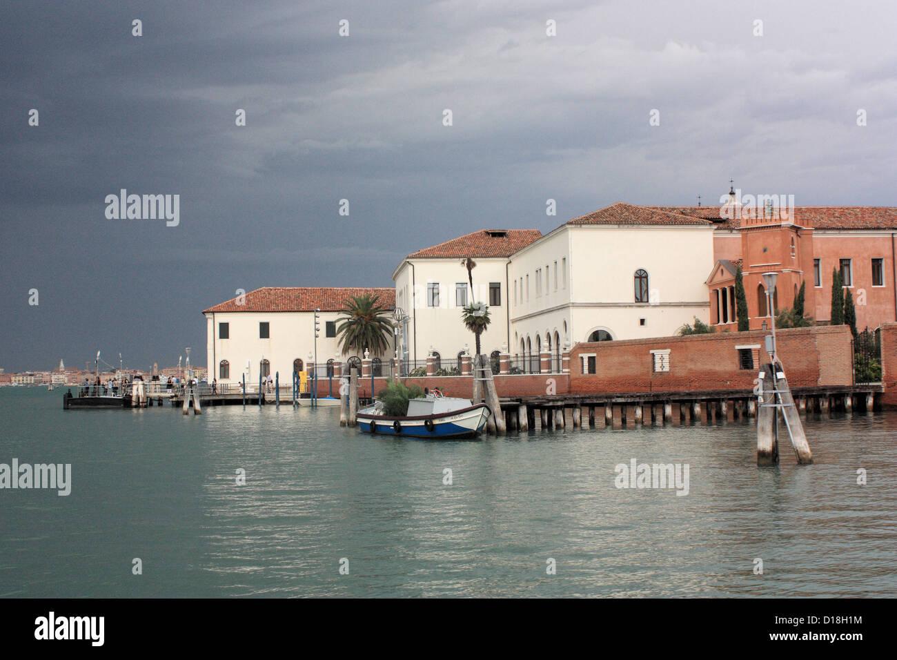Isola di San Servolo Island Stock Photo