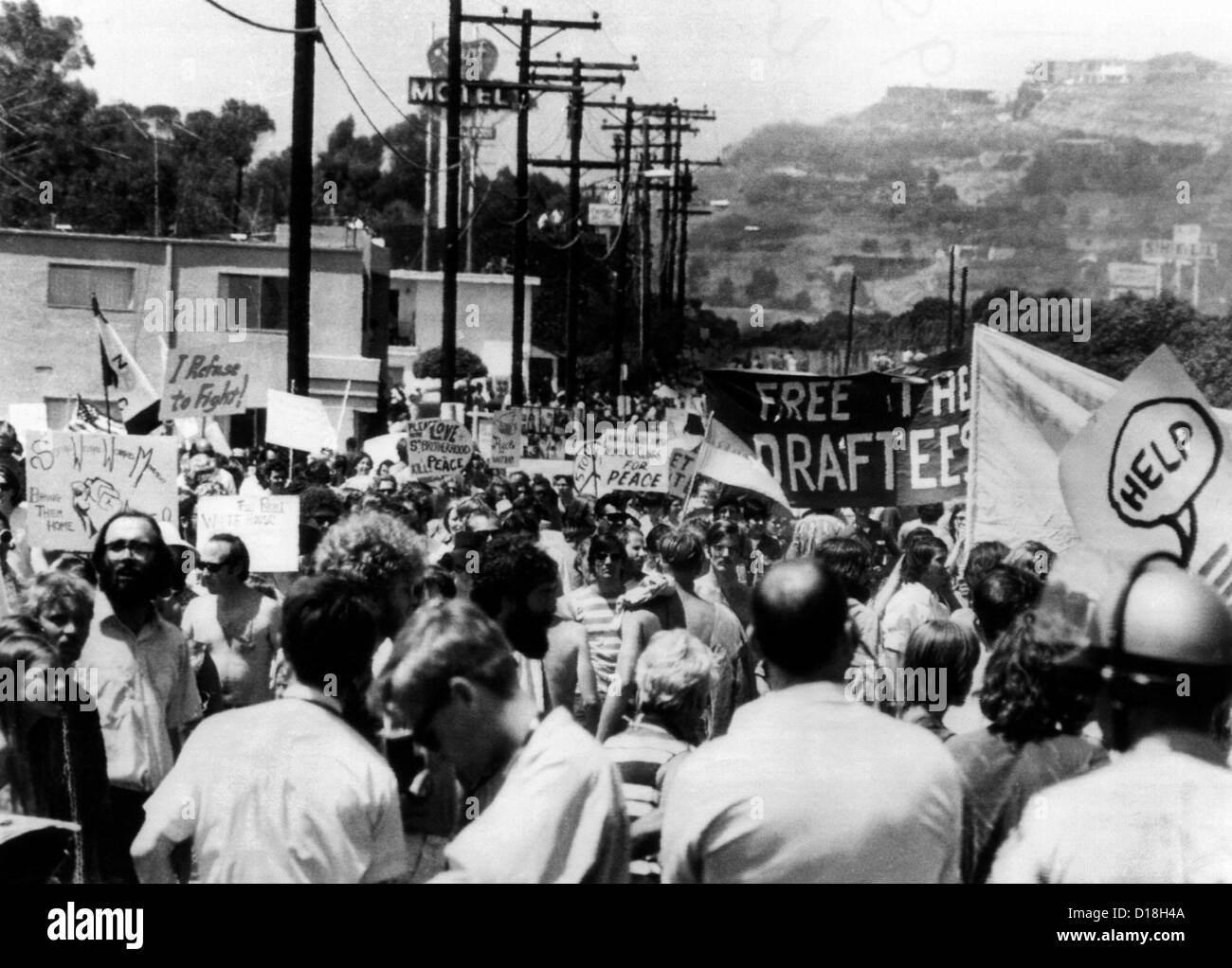 Vietnam War Protest Stock Photos Amp Vietnam War Protest