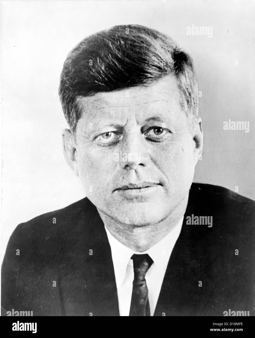 President John F. Kennedy - Stock Image