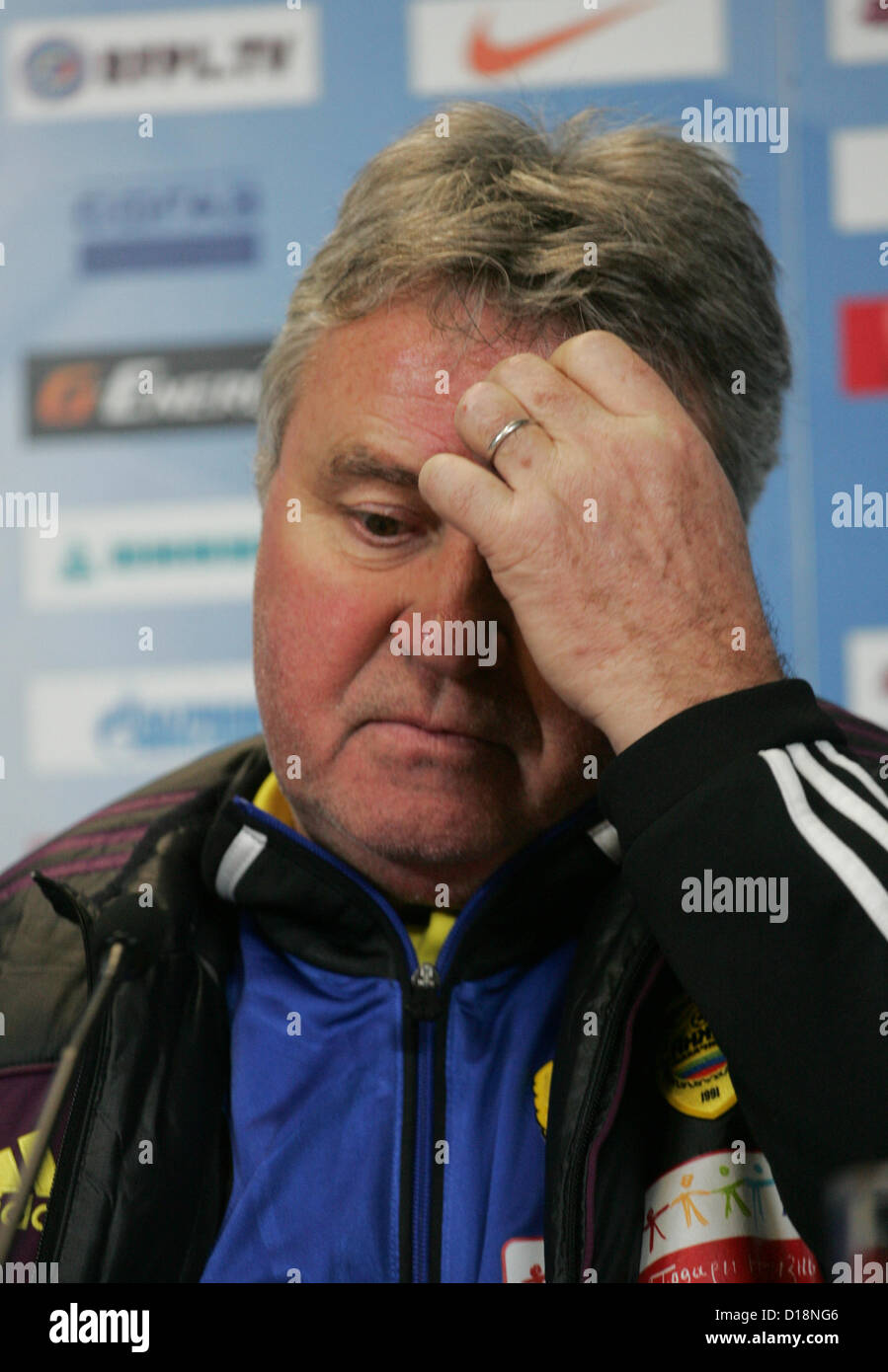 Guus Hiddink Stock Photos & Guus Hiddink Stock Images