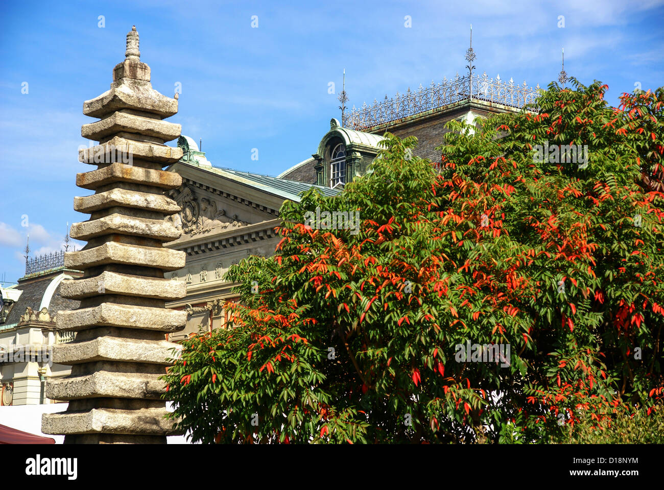 Japan, Kyoto Higashiyama, Kyoto National museum - Stock Image
