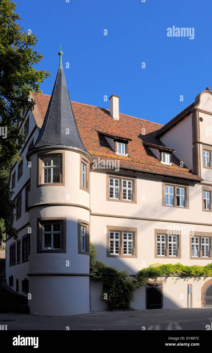 im Kloster Maulbronn, Herzogliches Jagdschloss, Evangelisches theologisches Seminar, Gymnasium mit Internat, Stock Photo
