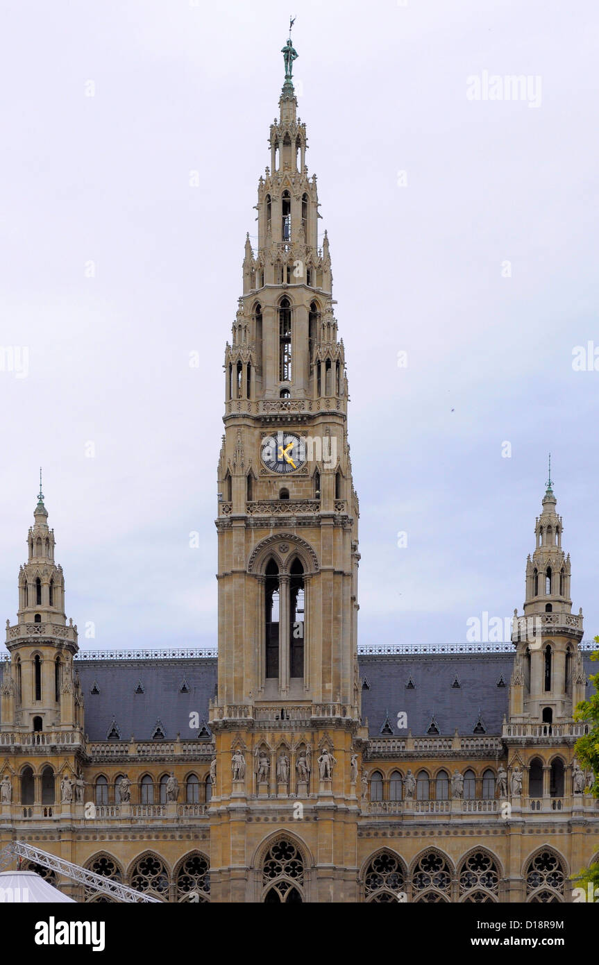 Österreich, Wien, Rathaus, - Stock Image
