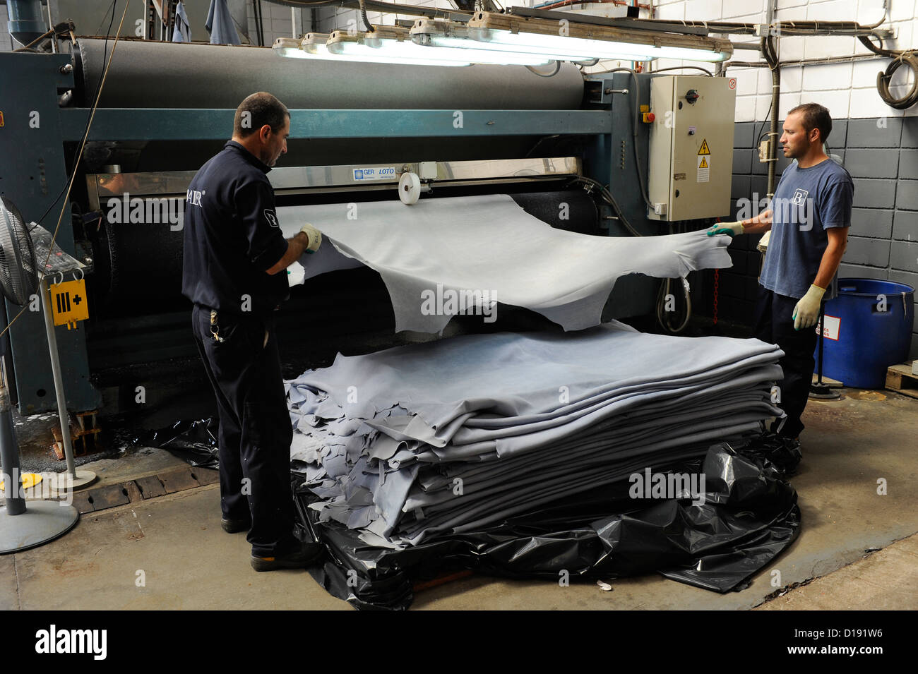BMW Convertible bmw other brands URUGUAY San Jose, tannery Bader production of leather from cow ...