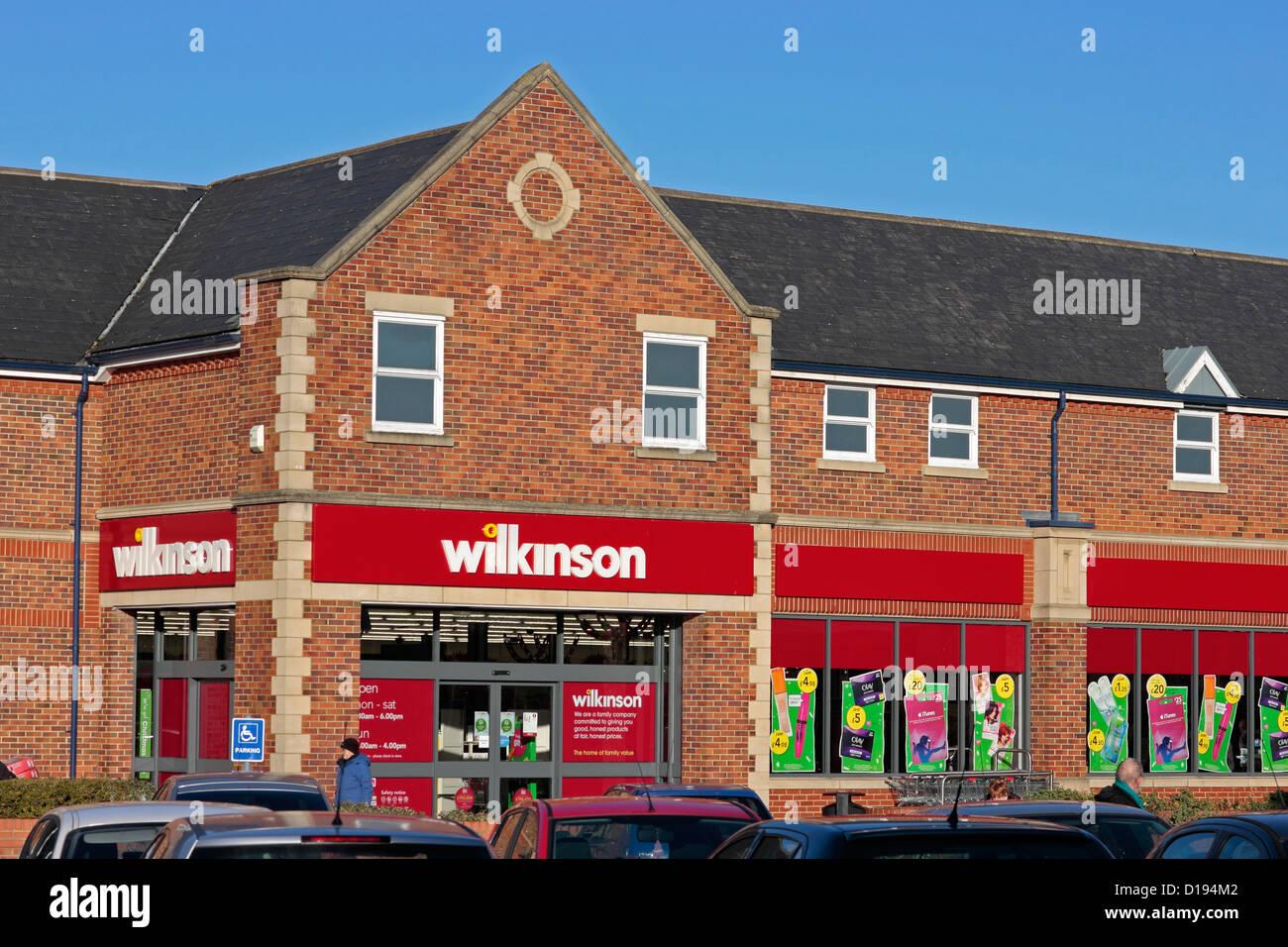 Wilkinson Store, Abbey Walk, Selby - Stock Image