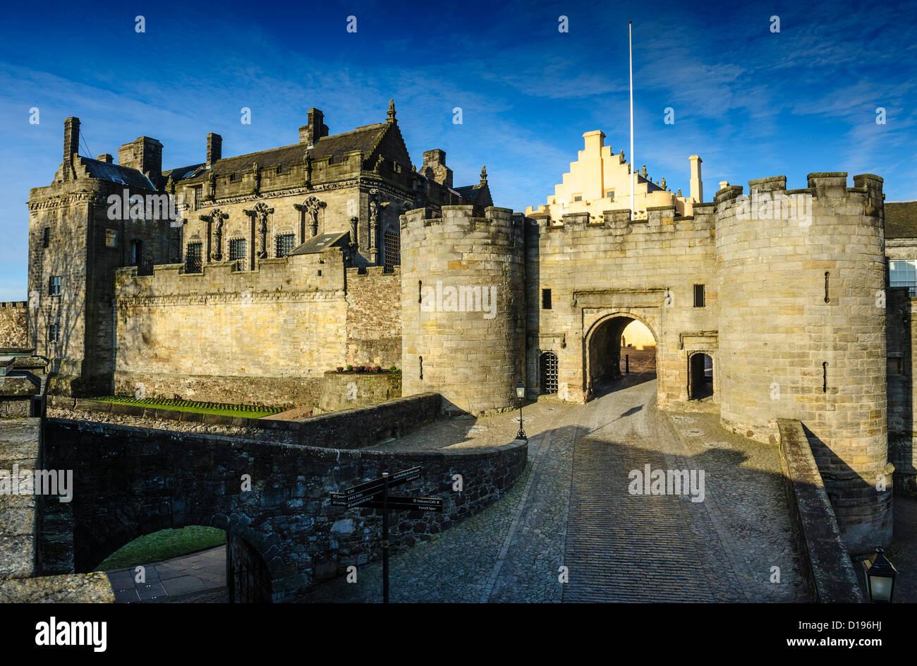 Stirling Castle, Stirlingshire, Scotland Stock Photo
