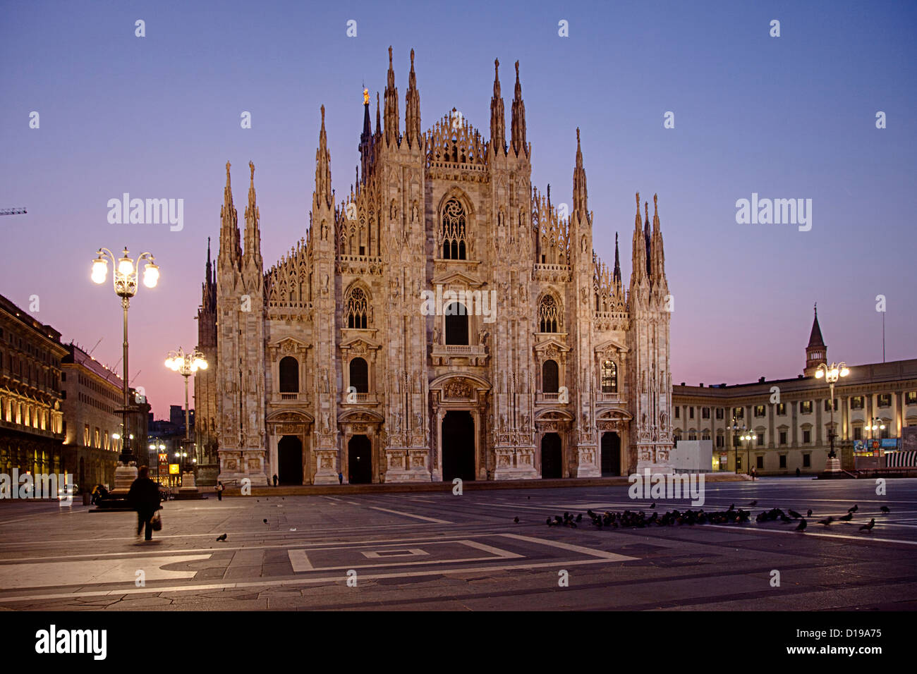 Milan Cathedral, Italy - Stock Image
