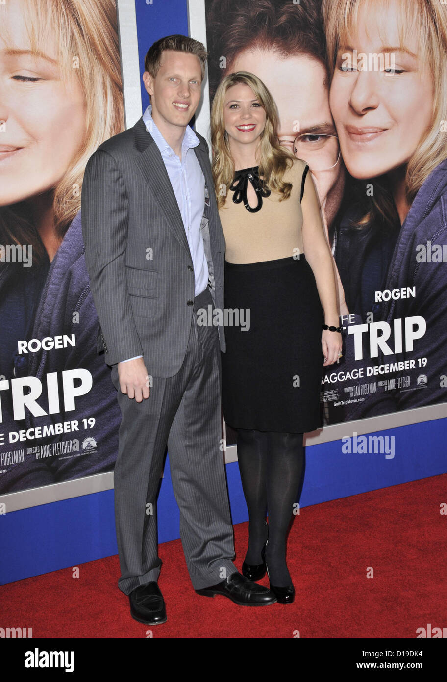 Dec. 11, 2012 - Los Angeles, California, U.S. - David Ellison attending the Los Angeles Premiere of ''The Guilt Stock Photo