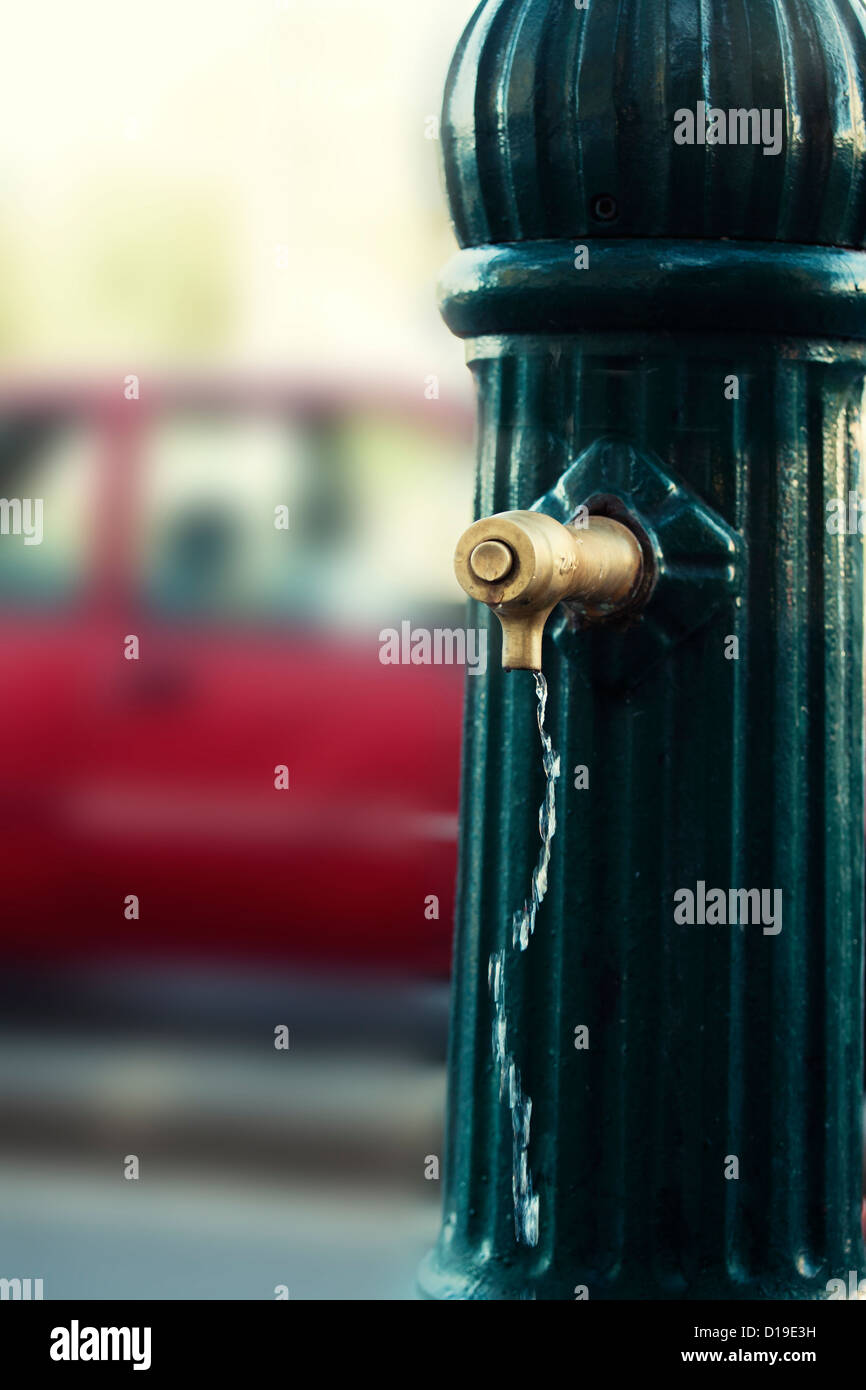 public water source - Stock Image