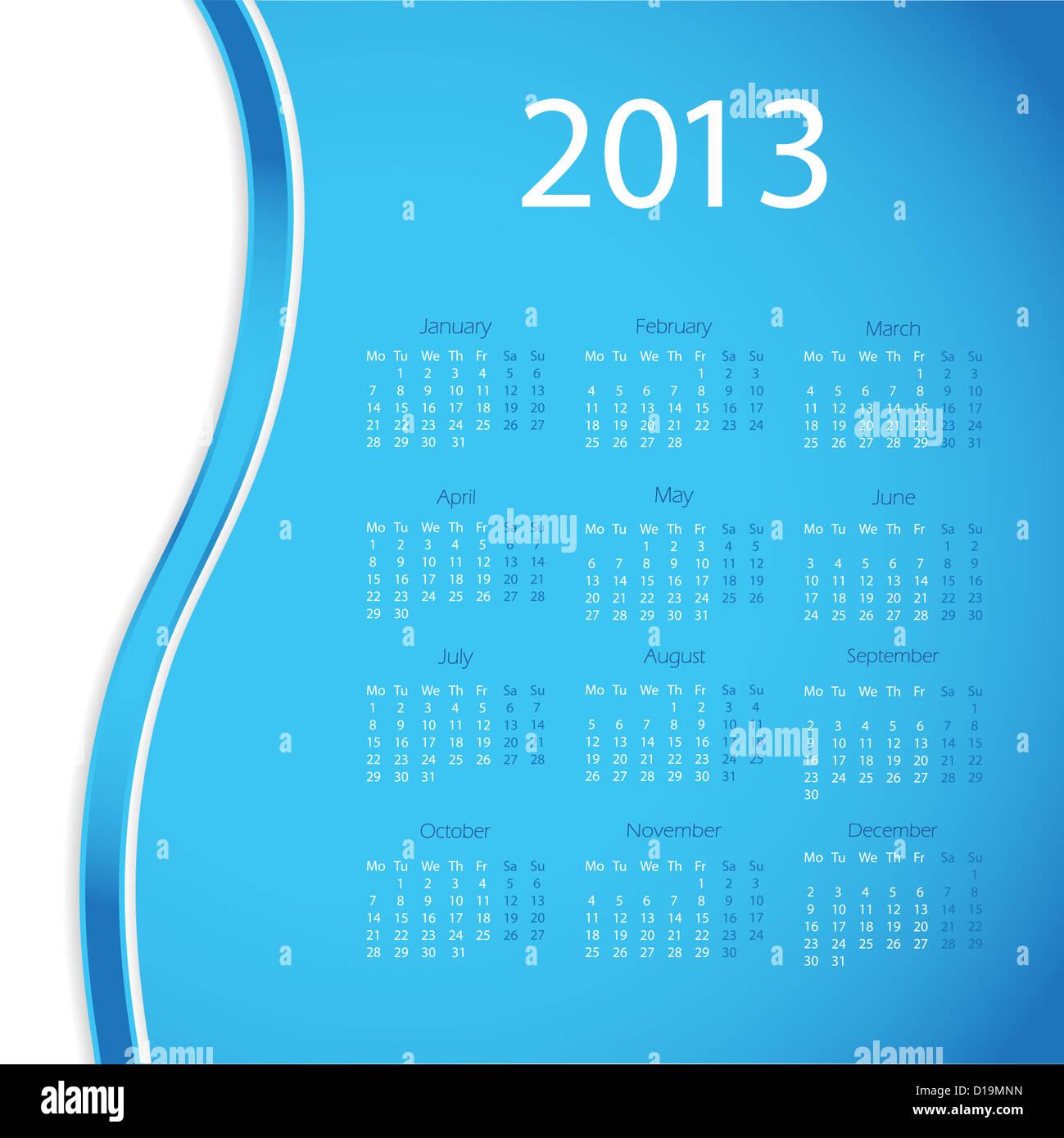 2013 year calendar stock photo 52459617 alamy