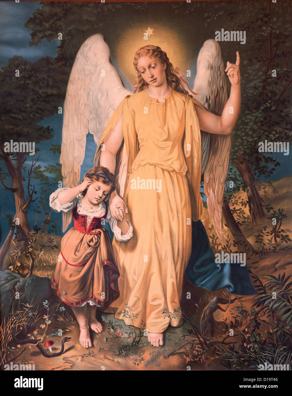 Mary,Virgin,mother,Jesus,child,catholicism,art, - Stock Image