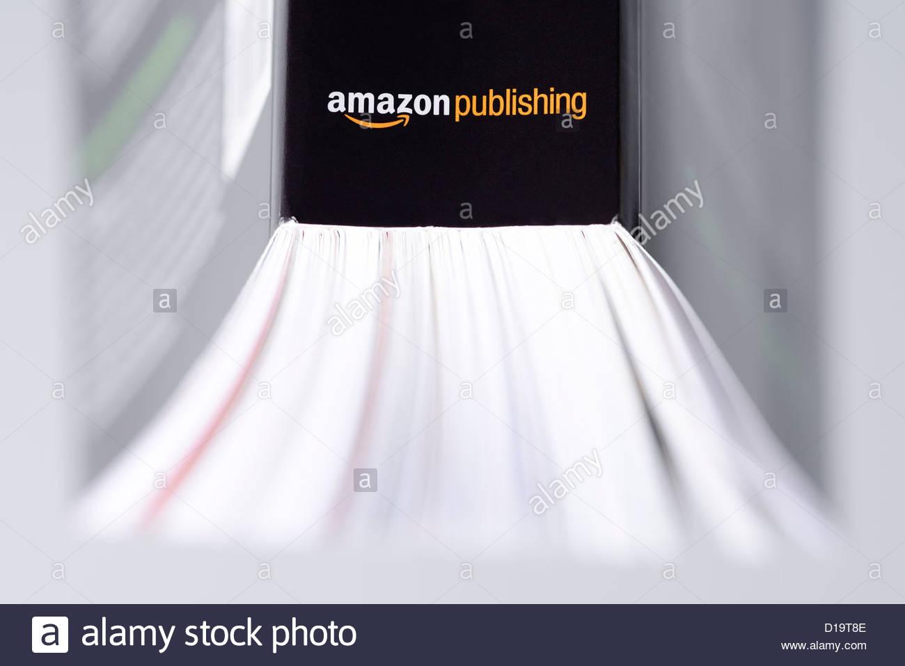 Amazon Publishing book logo - Stock Image