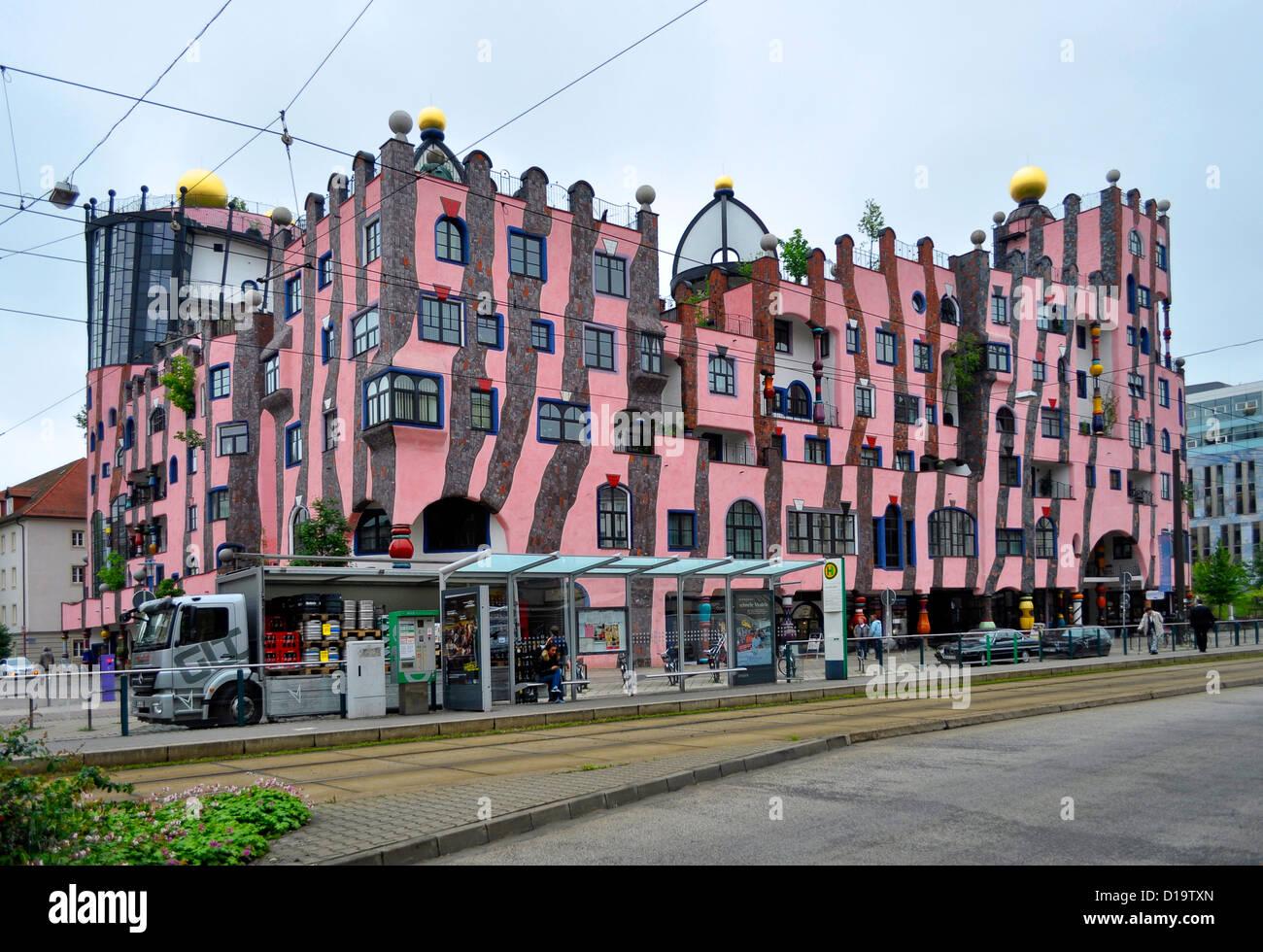 architecture friedensreich hundertwasser building stock