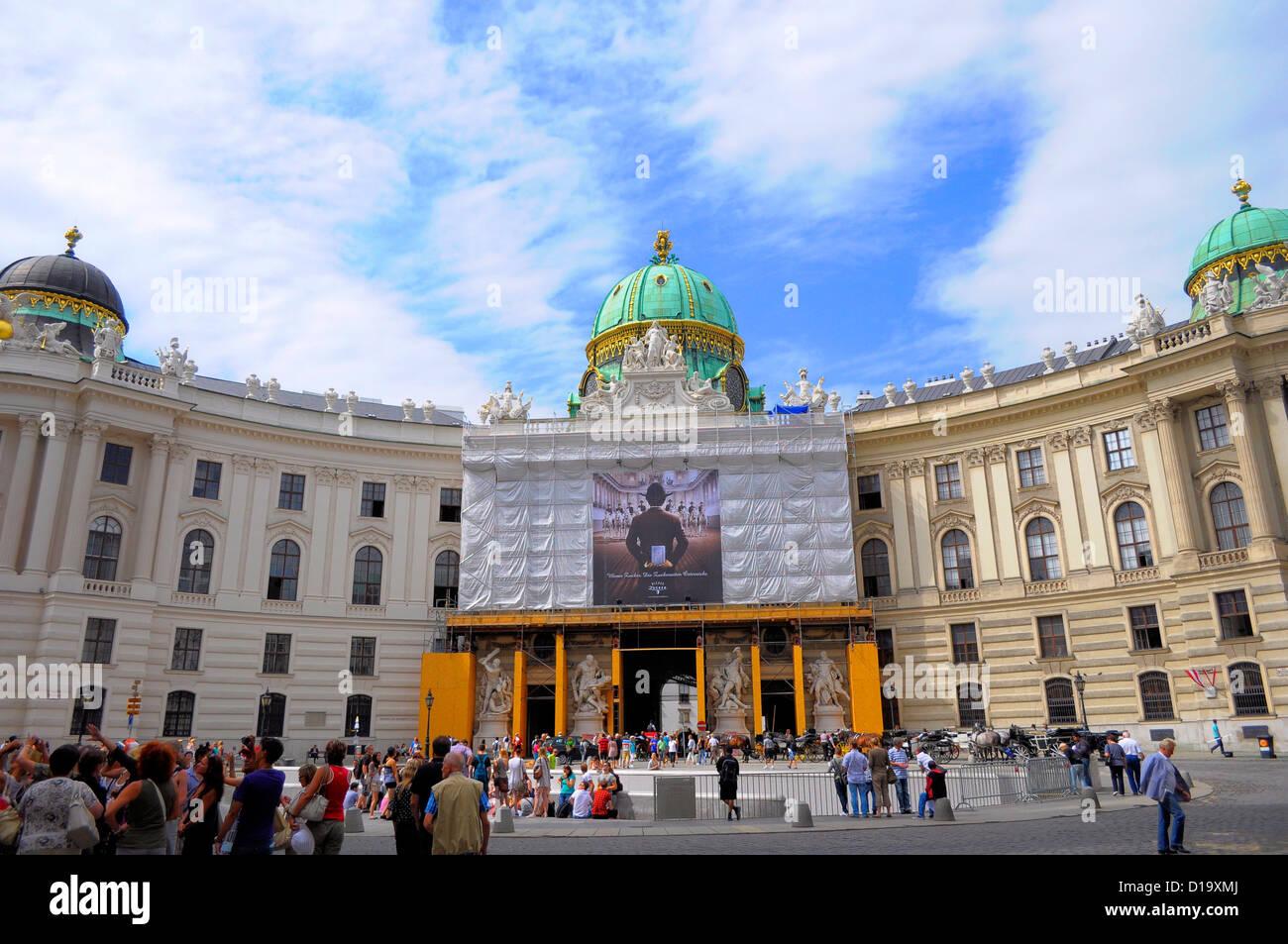 Österreich, Wien, Hofburg zu Wien, Austria, Vienna, Hofburg in Vienna Stock Photo