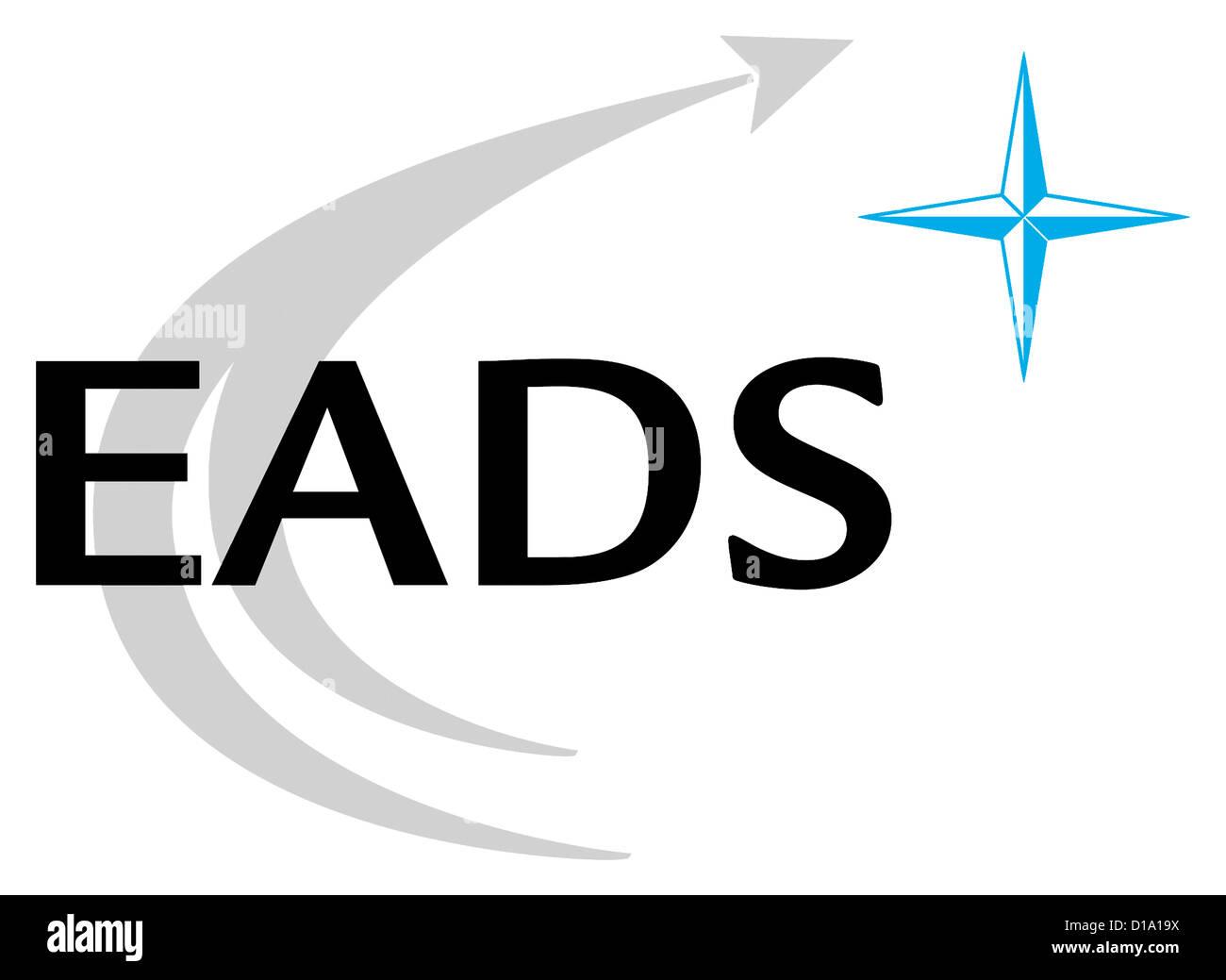 Logo of the European Aeronautic Defence and Space Company EADS. - Stock Image
