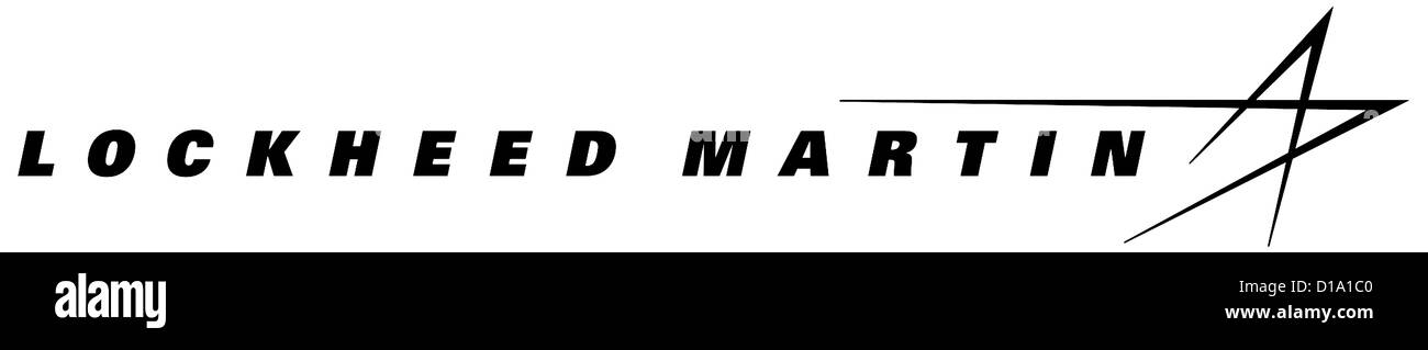 Logo of US defense industrial company Lockheed Martin with seat in Bethesda. - Stock Image