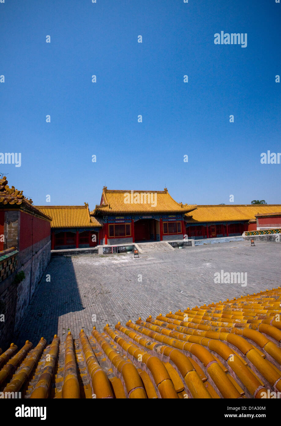 Forbidden City, Beijing, China - Stock Image