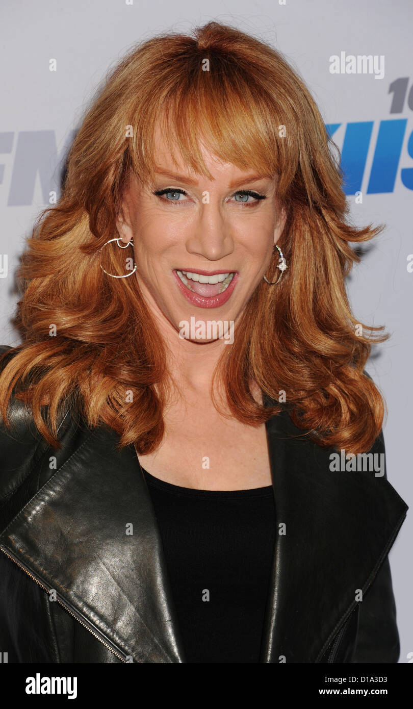 KATHY GRIFFIN  US comedian in December 2012. Photo Jeffrey Mayer - Stock Image