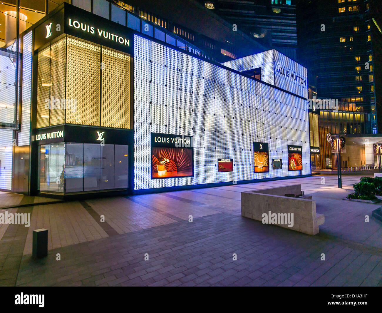 ebbcd9bacdc Macau LV Shop Macao Stock Photo: 52468123 - Alamy