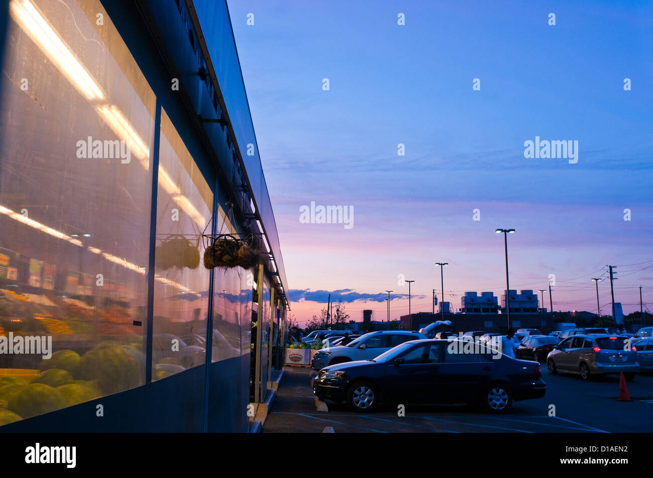 Brooklyn, NY - Fairway Supermarket in Red Hook, Brooklyn - Stock Image