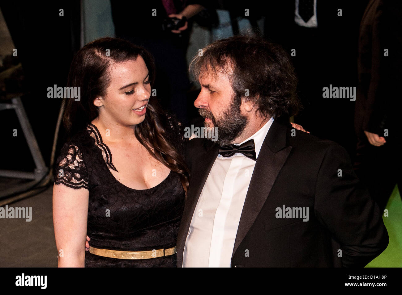 Katie Jackson and Peter Jackson attends the Royal Film